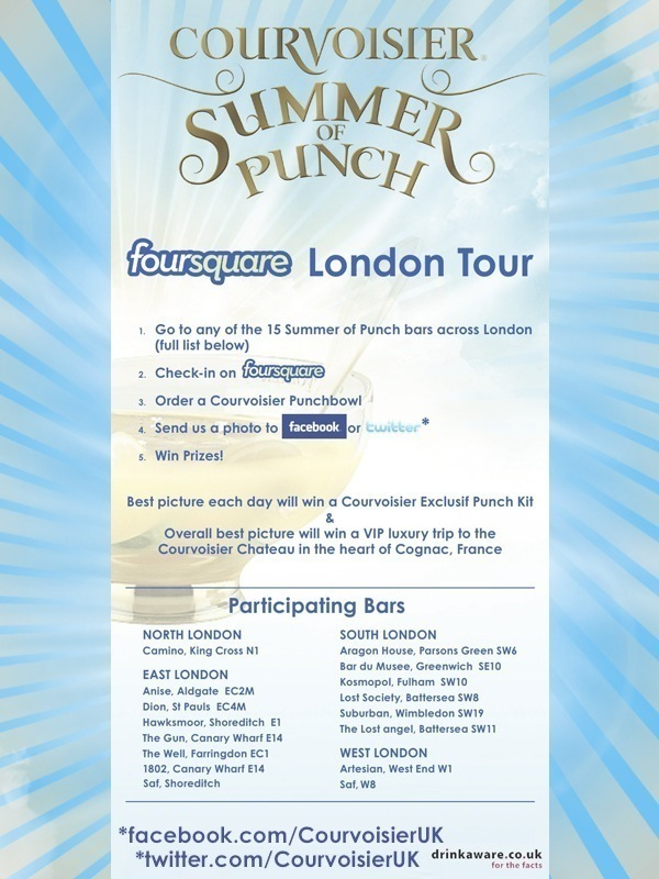 Foursquare Summer Of Punch Tour Flyer