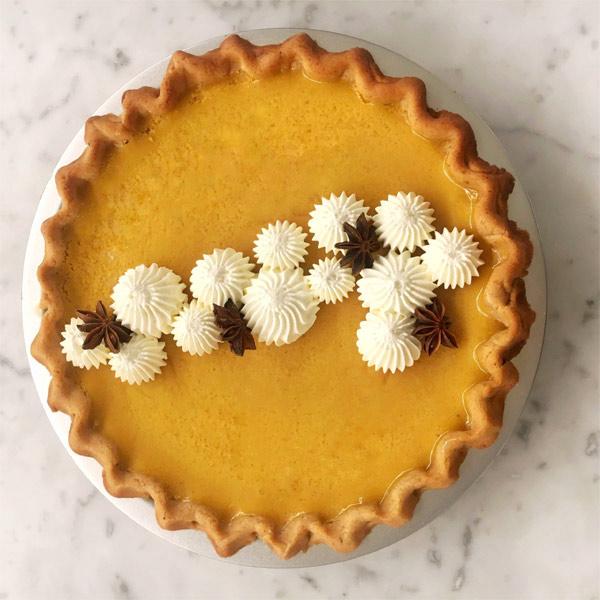 Extra Silky Pumpkin Pie for Thanksgiving | Fourteen Ten Blog